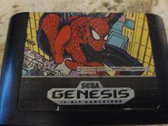 Cartridge (Front) | Spiderman Sega Genesis