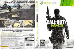 Slip Cover Scan By Canadian Brick Cafe | Call of Duty Modern Warfare 3 Xbox 360