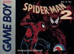Amazing Spiderman 2 - Manual | Amazing Spiderman 2 GameBoy