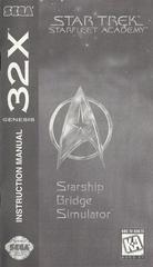 Star Trek: Starfleet Academy - Manual | Star Trek: Starfleet Academy Sega 32X