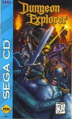 Dungeon Explorer - Front / Manual | Dungeon Explorer Sega CD