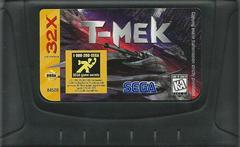 T-Mek - Cartridge | T-Mek Sega 32X