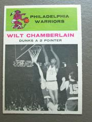 Wilt Chamberlain In Action Basketball Cards 1961 Fleer Prices