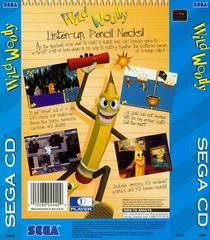 Wild Woody - Back | Wild Woody Sega CD