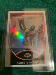 Kobe Bryant [Refractor] Basketball Cards 2007 Bowman Chrome Prices