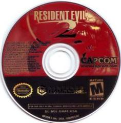 Disc | Resident Evil 2 Gamecube