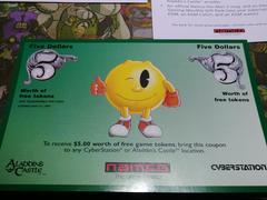 Aladdin Casino $5 Gift Certificate | Pac-Man 2 The New Adventures Sega Genesis