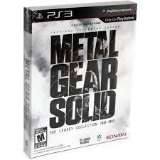 Metal Gear Solid: The Legacy Collection [Artbook Bundle] Playstation 3 Prices