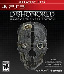 Dishonored [Game of the Year Greatest Hits] Playstation 3 Prices