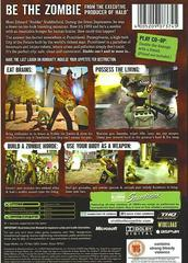 Back Cover | Stubbs the Zombie Xbox