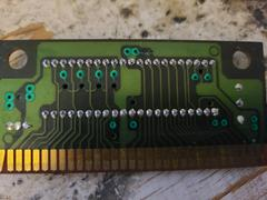 Circuit Board (Reverse) | Mega Turrican Sega Genesis