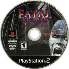 Disc   Fatal Frame Playstation 2