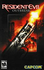 Manual - Front | Resident Evil Outbreak Playstation 2
