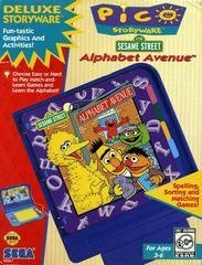 Front Cover | Sesame Street: Alphabet Avenue Sega Pico