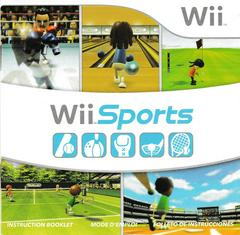 Manual - Front | Wii Sports Wii