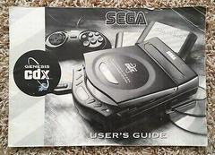 Sega CDX Manual | Sega Genesis CDx Console Sega Genesis