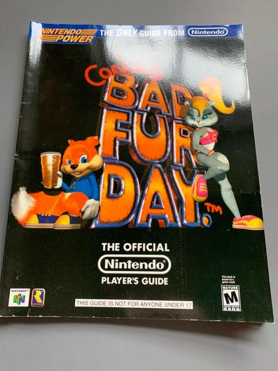 Conker's Bad Fur Day Player's Guide photo