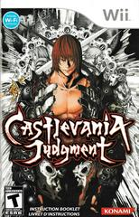 Manual - Front   Castlevania Judgment Wii