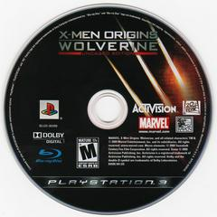 Game Disc   X-Men Origins: Wolverine Playstation 3