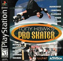 Manual - Front   Tony Hawk Playstation