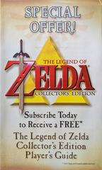 Advertisement - Front | Zelda Collector's Edition Gamecube