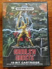 Front Cover | Ghouls 'N Ghosts Sega Genesis