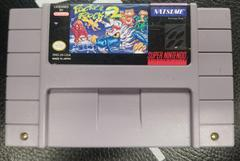 Cartridge Front | Pocky and Rocky 2 Super Nintendo