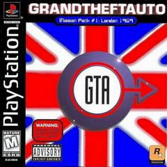 Front Cover | Grand Theft Auto Mission Pack #1 London Playstation