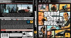 Artwork - Back, Front | Grand Theft Auto V Playstation 3