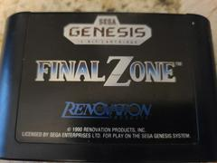 Cartridge (Front) | Final Zone Sega Genesis