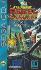 Star Wars Rebel Assault - Front / Manual | Star Wars Rebel Assault Sega CD