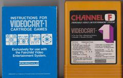 Manuel And Cartridge | Videocart 1 Fairchild Channel F