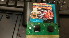 Cartridge Label And Board Front | Street Fighter II Special Champion Edition Sega Genesis