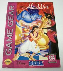 Aladdin - Manual | Aladdin Sega Game Gear