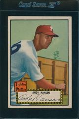 Andy Hansen Baseball Cards 1952 Topps Prices