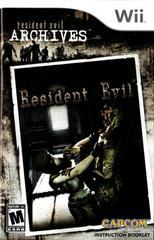 Manual | Resident Evil Archives: Resident Evil Wii