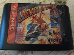 Cartridge (Front) | Last Action Hero Sega Genesis