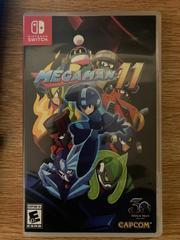 Front Cover | Mega Man 11 Nintendo Switch