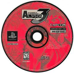 Game Disc | Street Fighter Alpha 3 Playstation