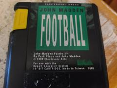 Cartridge (Front) | John Madden Football Sega Genesis