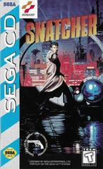 Manual (Front) | Snatcher Sega CD
