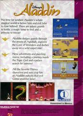 Aladdin - Back | Aladdin Sega Game Gear