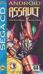 Android Assault - Front / Manual | Android Assault Sega CD
