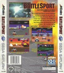 Battlesport - Back | Battlesport Sega Saturn