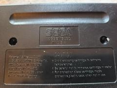 Cartridge (Reverse) | Shinobi III Return of the Ninja Master Sega Genesis