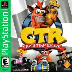 Manual - Front | CTR Crash Team Racing [Greatest Hits] Playstation