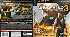 Artwork - Back, Front | Uncharted 3: Drake's Deception Playstation 3