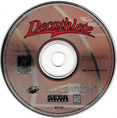 Game Disc | Decathlete Sega Saturn