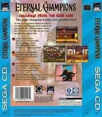 Eternal Champions - Back | Eternal Champions Sega CD