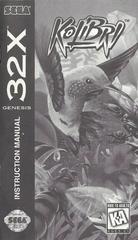 Kolibri - Manual | Kolibri Sega 32X
